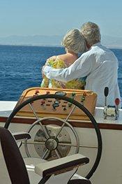 Couple Enjoying Boat