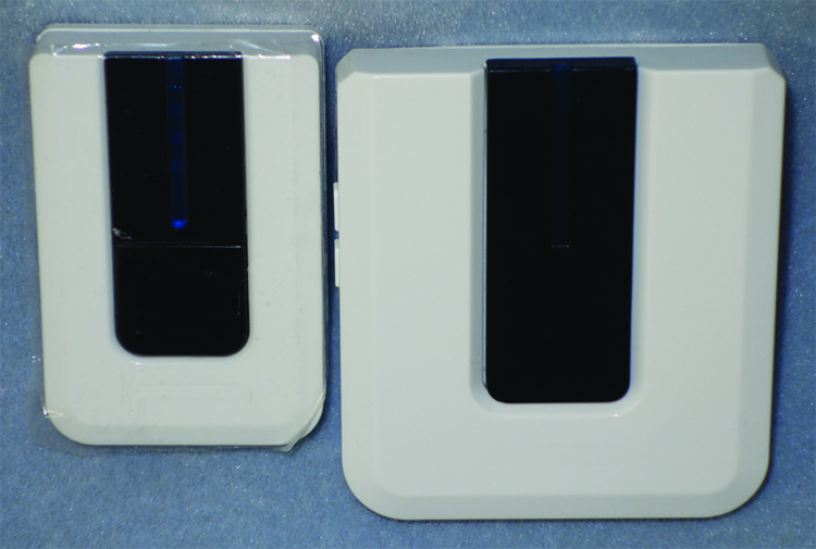 Wireless chime transmitter and receiver